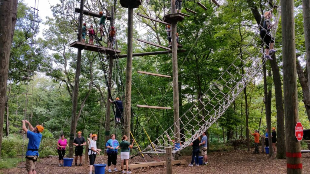 2016 OWLS high ropes course