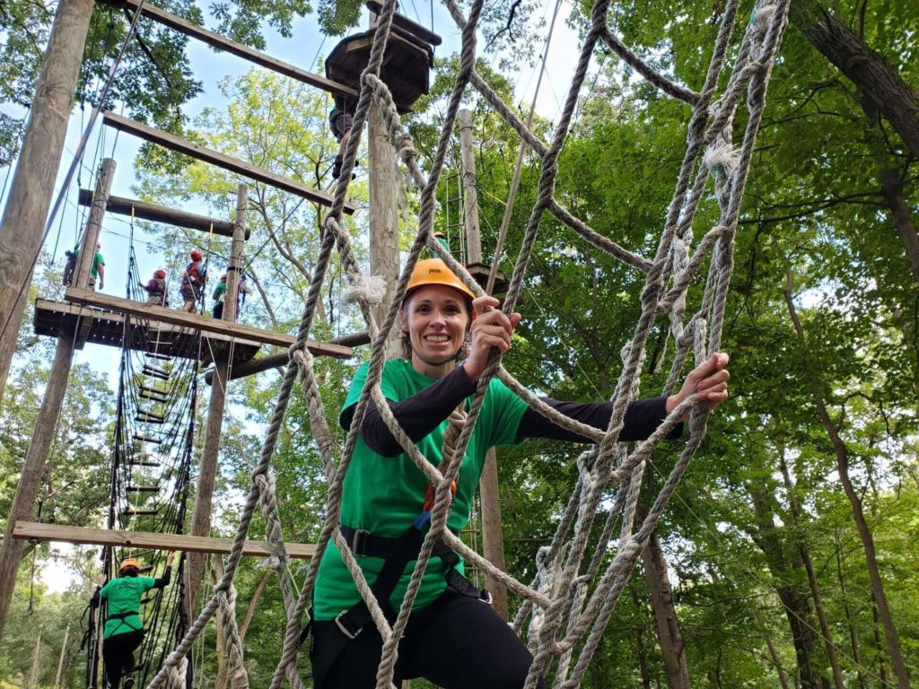 Sept 2019 Session Recap: High Ropes Course