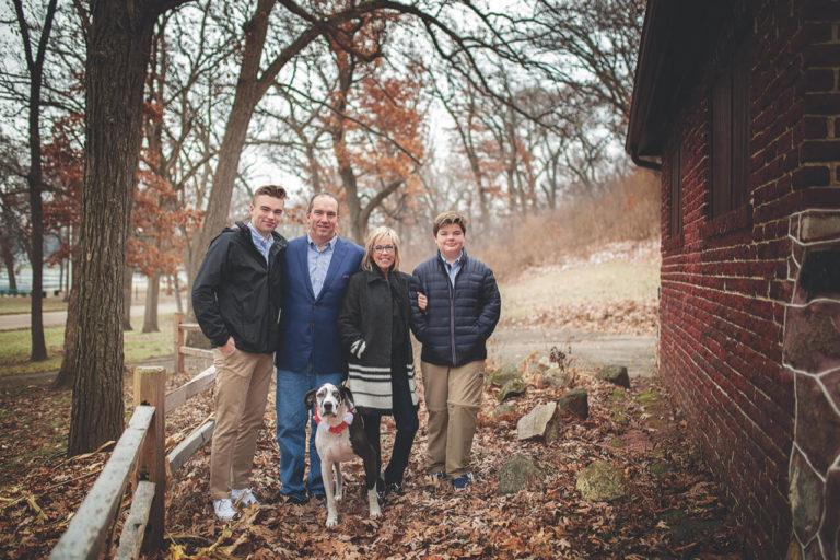 Jen DeGarmo and family